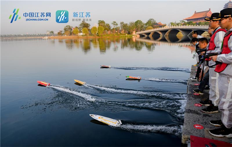 2020年高港凤栖湖生态区航海模型比赛1.jpg